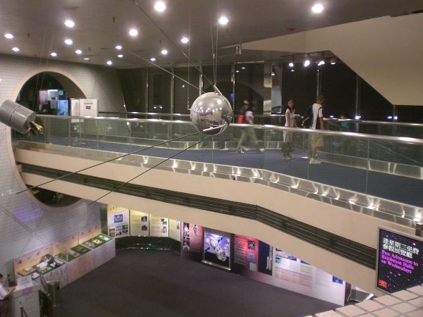 Hong Kong Space Museum Lobby photo via Wikipedia Creative Commons