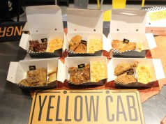 Yellow Cab Pizza launches 6 Explosive Flavors.