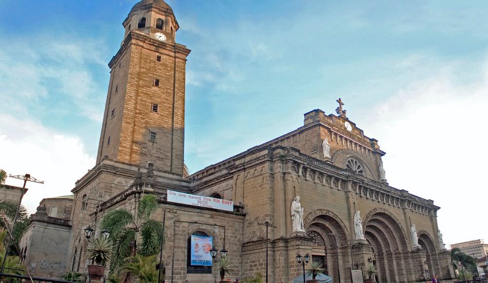 Manila Cathedral photo via Wikipedia