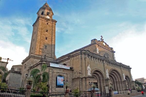 Manila Cathedral Holy Week Activities photo via Wikipedia