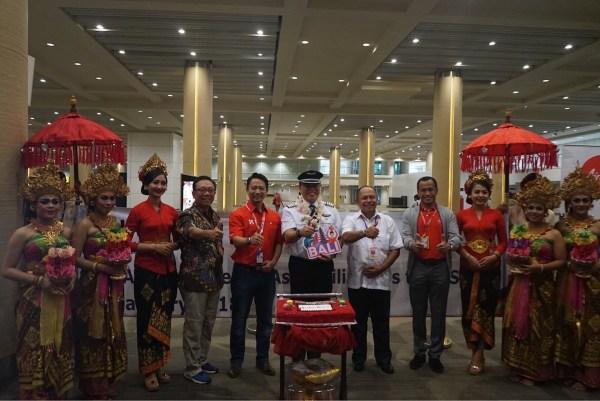 Manila to Bali Inaugural Flight Ceremony in Bali