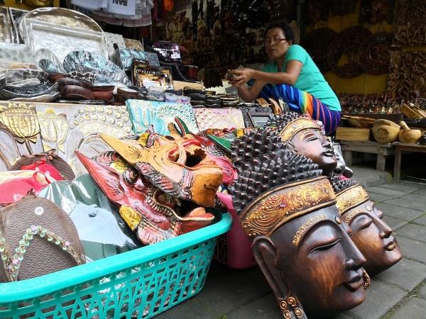 Shopping in Ubud Bali