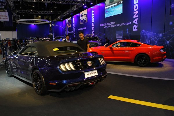 2018 Ford Mustang at the Manila International Auto Show