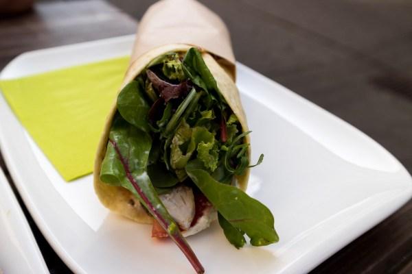 Caesars Salad Wrap