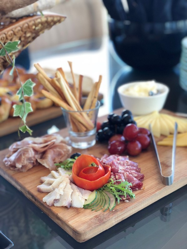 Cheese and Ham Platter at Sheraton Bali