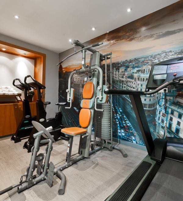 Hotel Catalonia Gran Via Fitness Gym