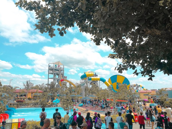 One of the Biggest waterpark in Asia Aqua Planet