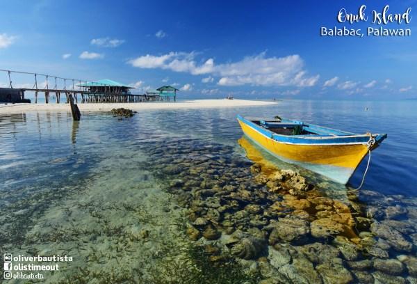 Onuk Island in Palawan photo by Oliver Bautista
