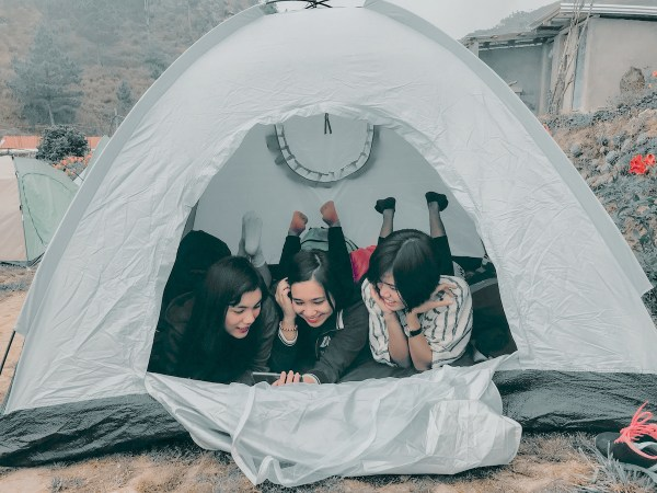 Our tent in Pulag