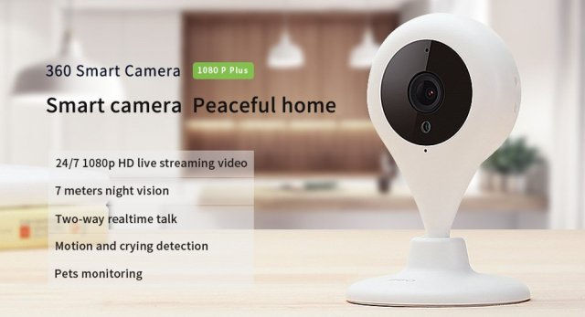 Qihoo 360 D606 Wifi Smart Camera Product Review