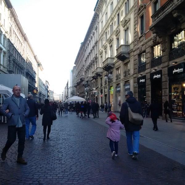 Strolling on Via Dante