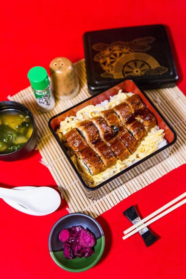 Unaju, rice toppings of eel, is one of many seafood dishes that uses only the freshest catch_ ensuring the highest palatability.
