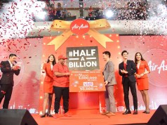 AirAsia Celebrates #halfabillion Guests