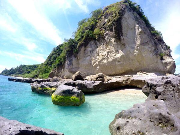 Masasa Beach Rock Formation photo via Sinaya Masasa Beach Lodging FB Page