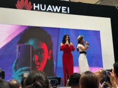 Pia Wurtzbach during the Huawei P20 Manila Launch