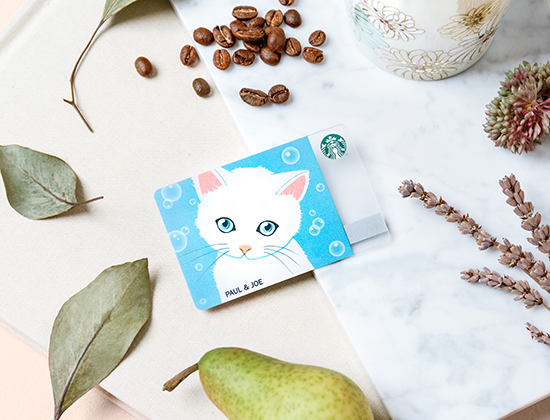 Starbucks X Paul & Joe Card