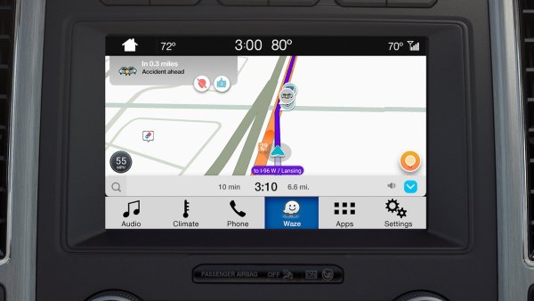 Waze Now Available in Ford Vehicles Equipped with SYNC 3