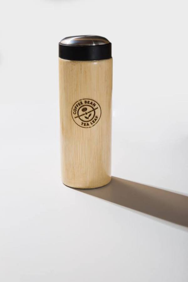 Coffee Bean and Tea Leaf Philippines Bamboo Tumbler