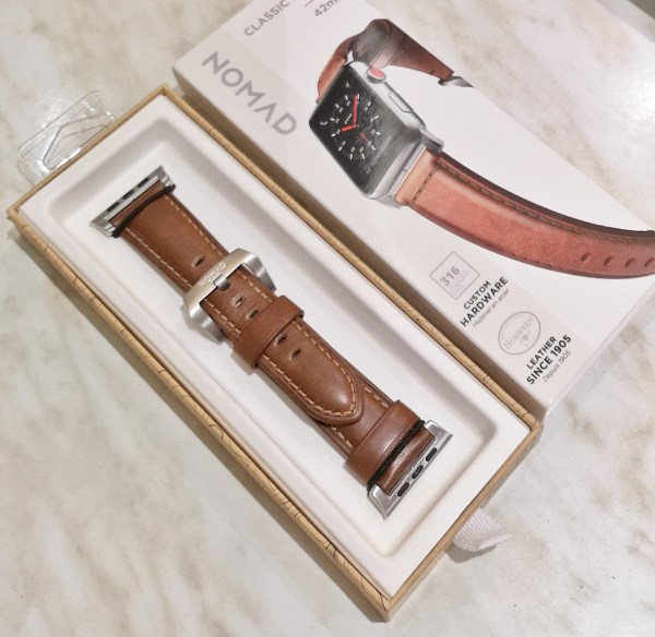 Apple Watch Leather Strap from Nomad