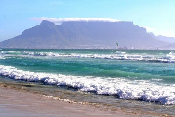 Beach in South Africa