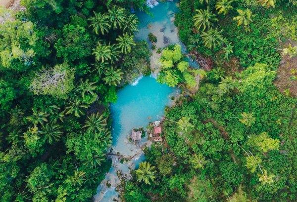Cambugahay Falls by James Connolly via Unsplash