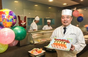 Chef Hiro prepares the most sumptuous Japanese fare for both celebrators and celebrants.