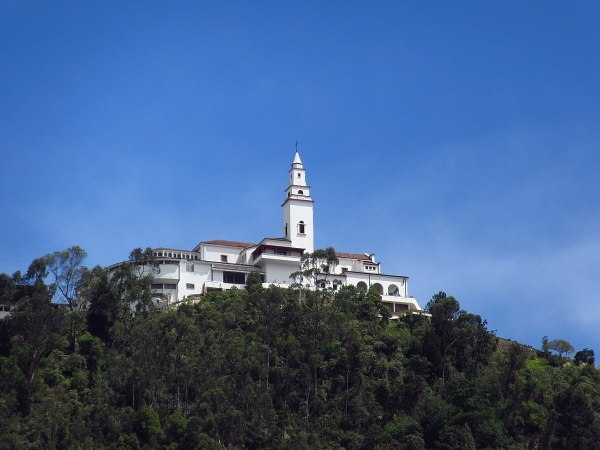 Church on top of Monserrate Mountain photo via Wikipedia