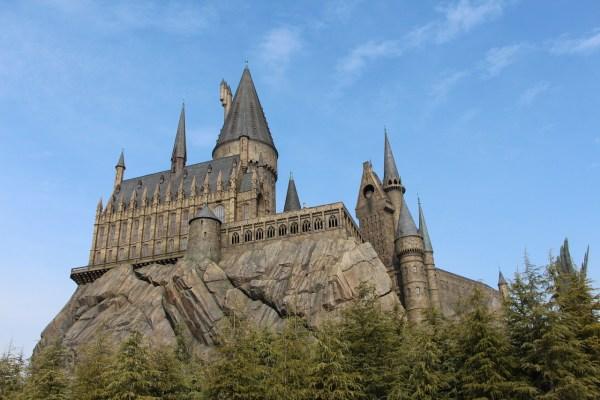 Hogwarts Castle at Universal Studios Osaka Japan