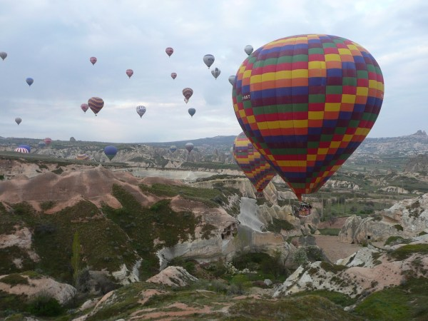 Hot-Air Ballooning in Turkey