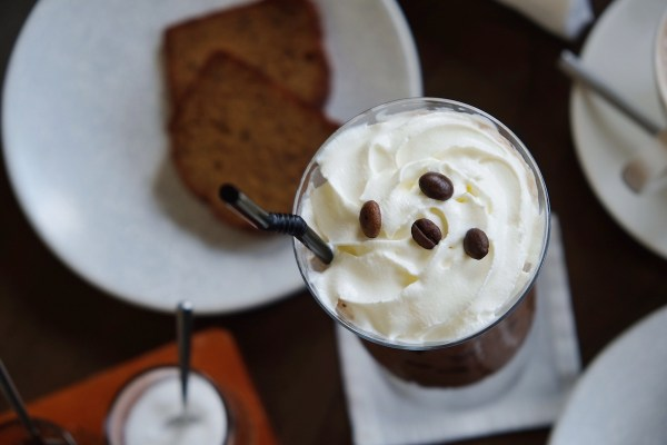 Iced Coffee Beverage