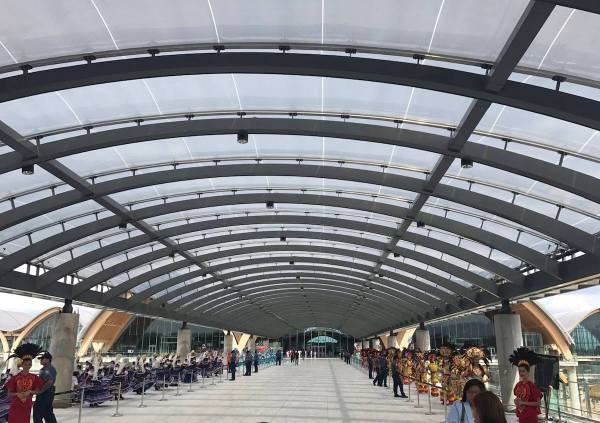 New Mactan-Cebu International Airport Terminal 2 photo by MJ de Leon
