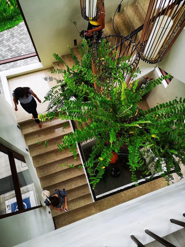 Stairs at the Anya Resort Lobby