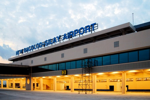 The Bacolod-Silay International Airport terminal building.