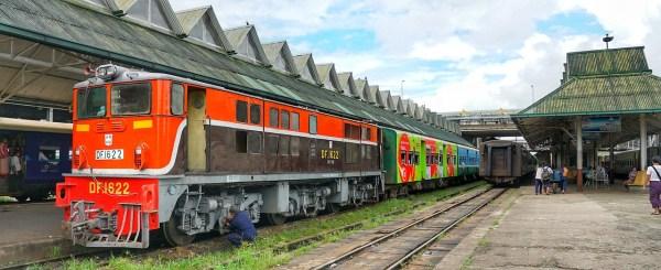 Train Station in Yangon