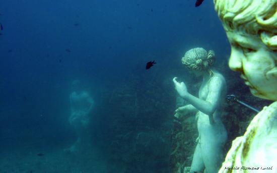 Underwater Archaeological Park of Baia image via Tripadvisor - Weird Museums Around the Globe