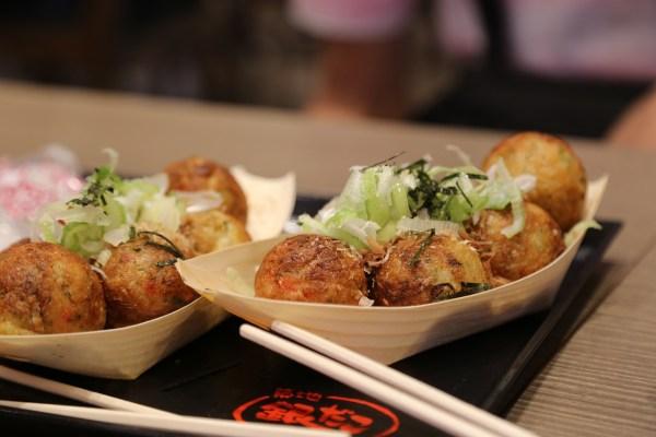 The famous Japanese octopus balls a.k.a. takoyaki