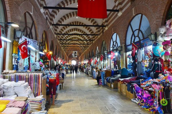 Ali Pasha Bazaar photo via Wikipedia