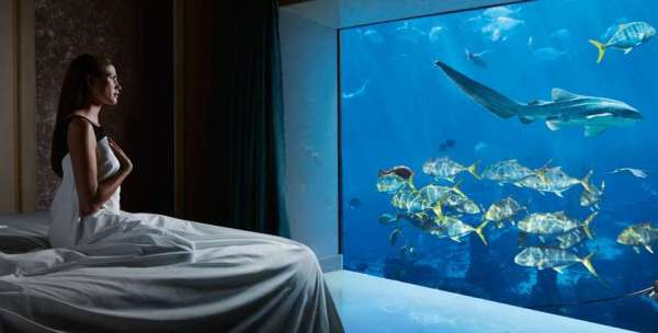Atlantis The Palm Dubai Underwater Suite