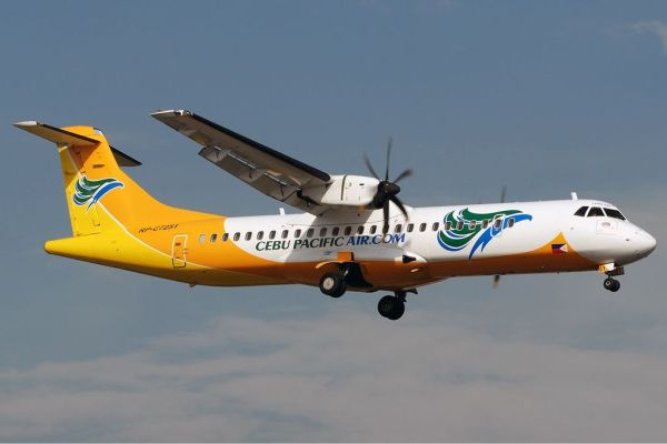 CEB Cargo ATR72-500 photo via Wikipedia Commons