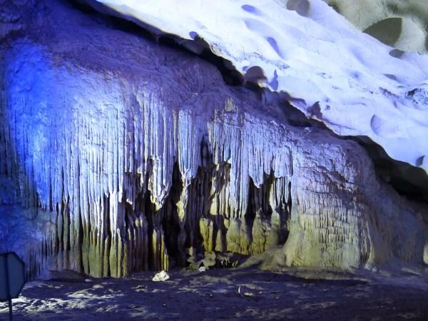 Cave in Ha Long Vietnam