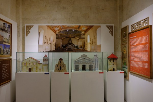 Diorama of Heritage Structures of Bohol