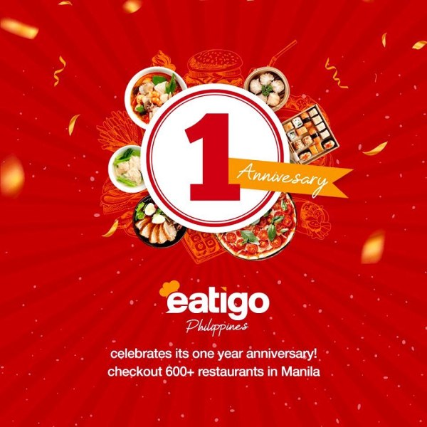 Eatigo Turns 1 this July