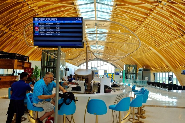 Get a Booze while waiting for your flight