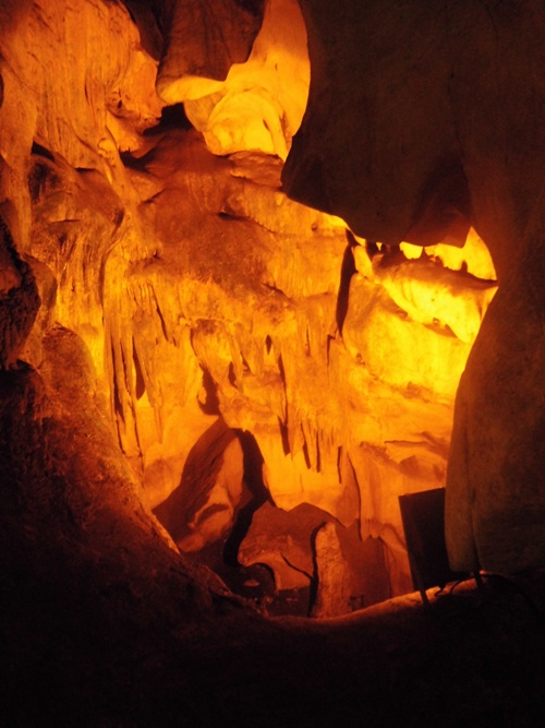 Inside the Dupnisa cave complex