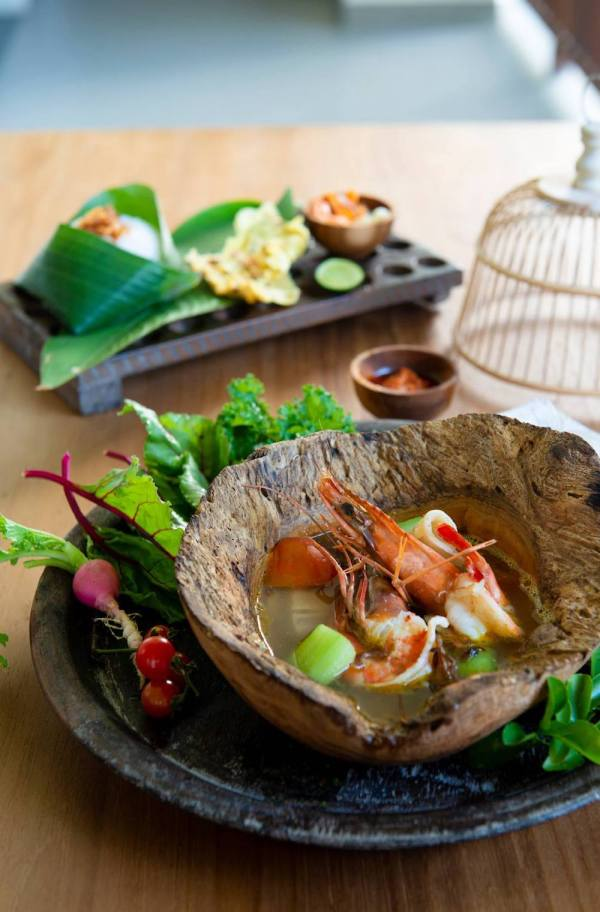 Kuah Be Pasih - Seafood in Balinese Herbs and Spices
