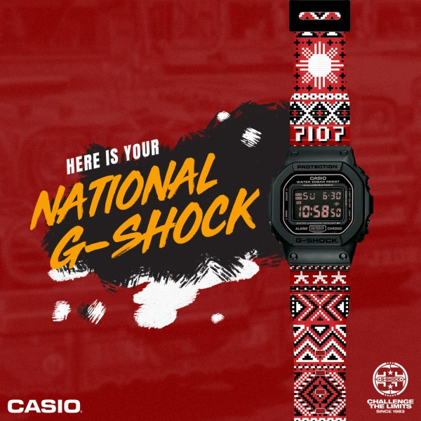 Philippines National G-Shock Design Winner