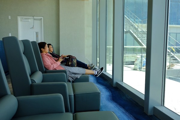 Relax at the Plaza Premium Lounge