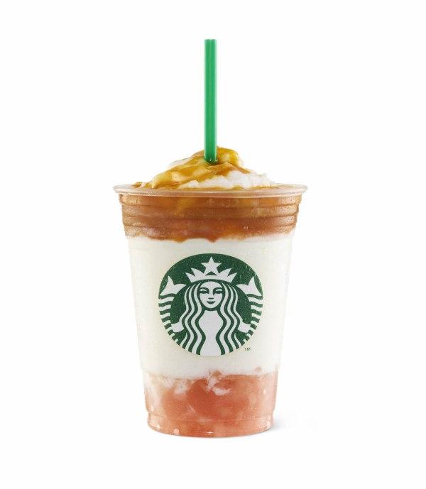 Starbucks Apricot and Peach Yogurt - Starbucks Fruity Frappuccino Drinks
