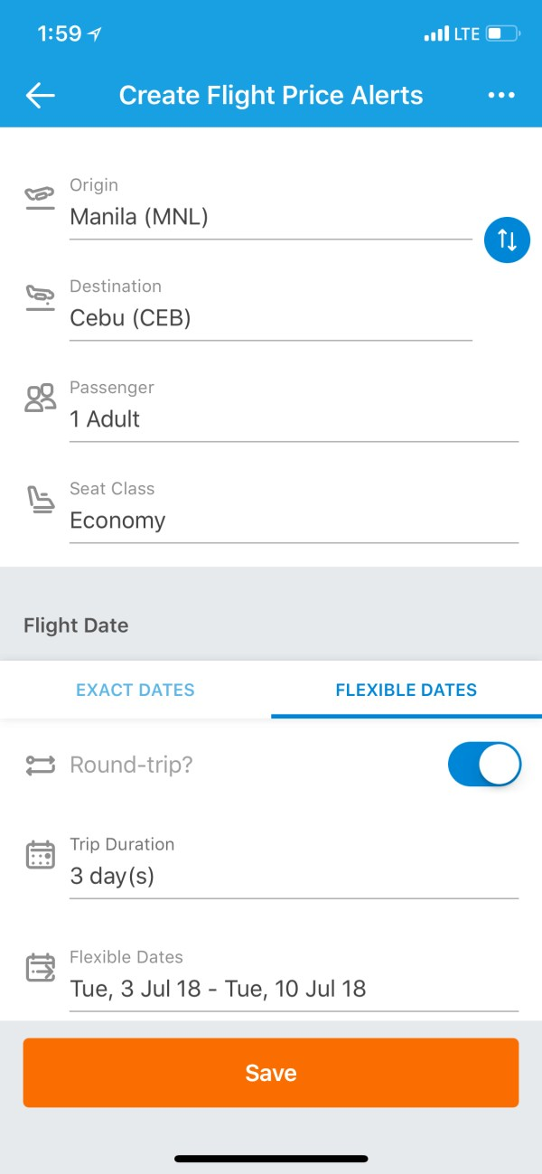 Traveloka Cheap Flight Price Alerts