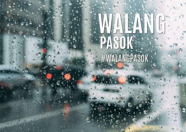 #WalangPasok Announcements